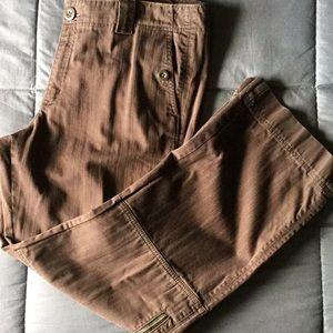 EddieBauer zipper and pocket jeans